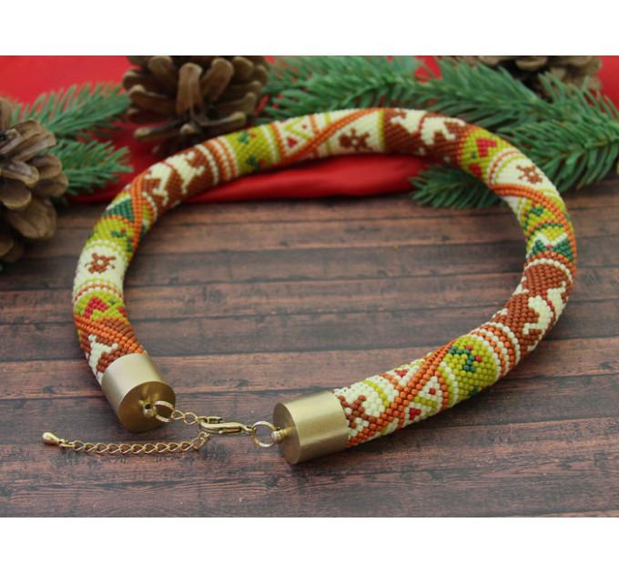 """Набор для вязания жгута """"Новогоднее настроение"""""""