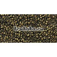 Бисер Toho 15/0 Золотое сияние темный шоколадно-бронзовый