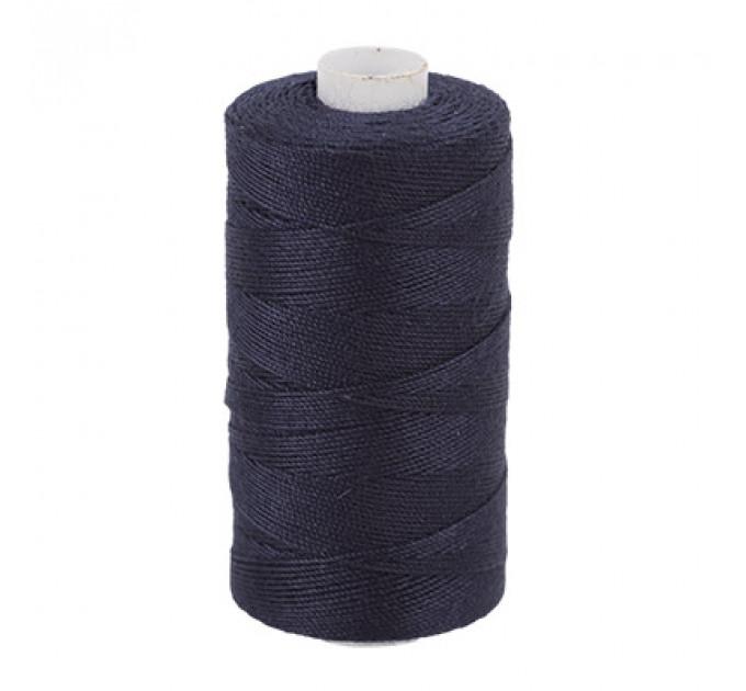 Micron Нить джинсовая 20s/3, №322 т.т.синяя