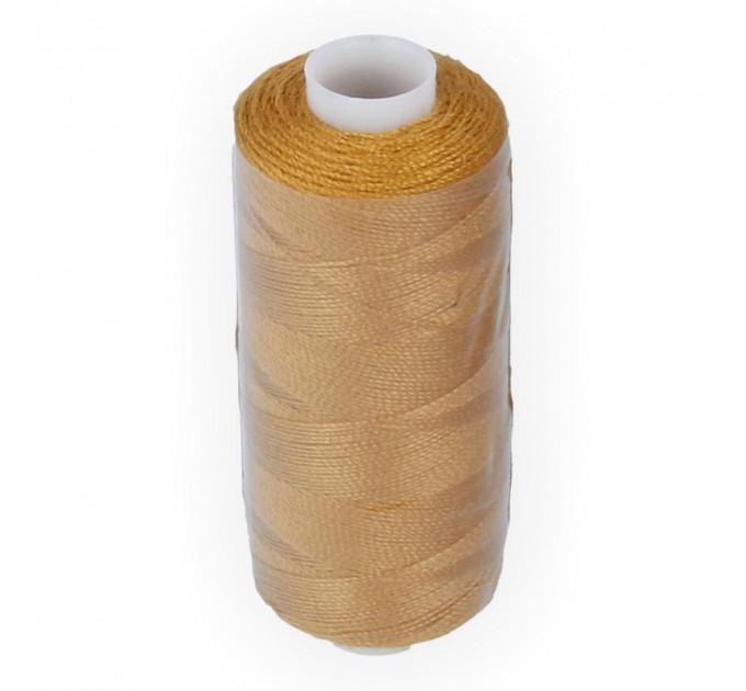 Micron Нить джинсовая 20s/2, №437 св.коричневая