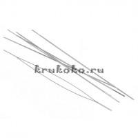 Игла для нанизывания бисера с очень большим ушком, 76 мм