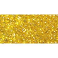 Бисер Preciosa 10/0 №80010 Прозрачный желтый, 1 сорт (50 гр)