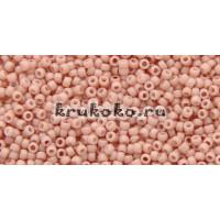 Бисер Toho 15/0 Непрозрачный морозный пастельный креветка