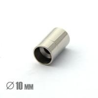 Магнитная застежка, ВД 10мм, нержавеющая сталь