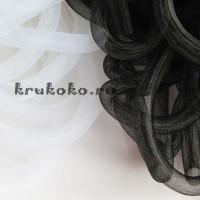 Сетка кринолин, диаметр 16мм, черная (1м)