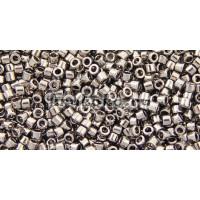 Бисер Miyuki Delica 11/0 Металлизированный сталь (DB0021)