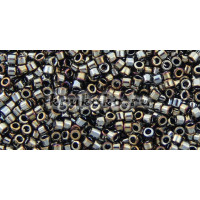 Бисер Miyuki Delica 11/0 Металлизированный темная сталь (DB0026)
