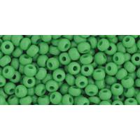 Бисер Preciosa 10/0 №53250M Непрозрачный матовый зеленый, 1 сорт (50 гр)