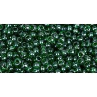 Бисер Preciosa 10/0 №56120 Прозрачный оливковый, 1 сорт (50 гр)