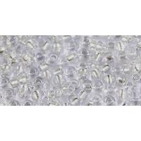 Бисер Preciosa 10/0 №68108 Внутреннее серебрение бесцветный, 1 сорт (50 гр)