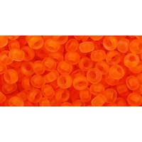 Бисер Preciosa 10/0 №90030M Прозрачный матовый оранжевый, 1 сорт (50 гр)