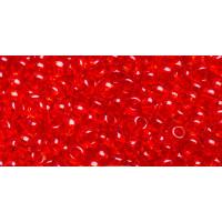 Бисер Preciosa 10/0 №90050 Прозрачный красный, 1 сорт (50 гр)