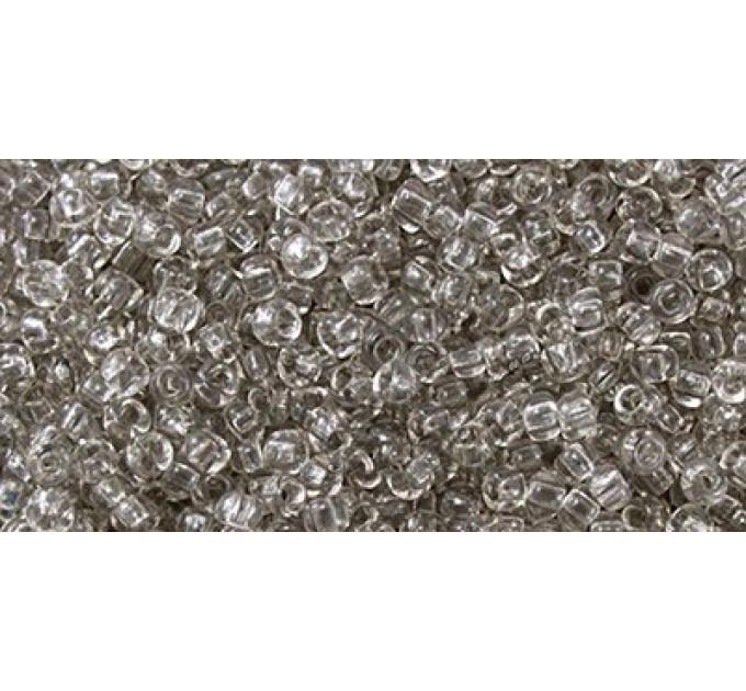 Бисер Preciosa 10/0 №01241 Прозрачный серый, 1 сорт (50 гр)