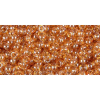 Бисер Preciosa 10/0 №16050 Прозрачный топаз, 1 сорт (50 гр)