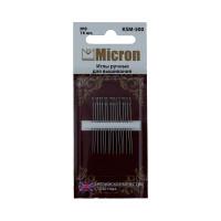 """Иглы для вышивания """"Micron"""" в блистере, №08, 16шт"""