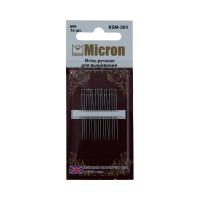 """Иглы для вышивания """"Micron"""" в блистере, №09, 16шт"""