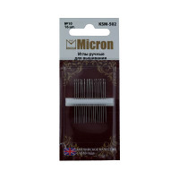 """Иглы для вышивания """"Micron"""" в блистере, №10, 16шт"""