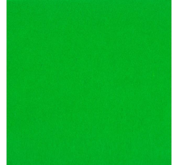 "Фетр ""BLITZ"" жесткий, 1мм, 20см х 30см, №044 зеленый"