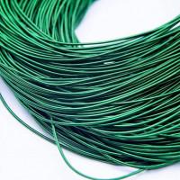 Канитель жесткая, 1,25 мм, темно-зеленая (5 гр)
