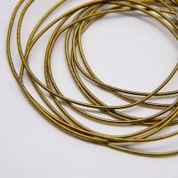 Канитель жесткая, 1,25 мм, темное золото (5 гр)