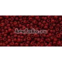 Бисер Toho 11/0 Полуматовый темно-красный