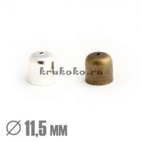 Колпачок-концевик, ВД 11,5мм, бронза