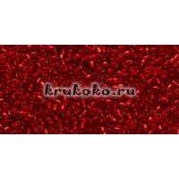 Бисер Toho 15/0 Внутреннее серебрение рубин