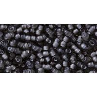 Бисер Preciosa 10/0 №45016 Прозрачный внутренний прокрас серый, 1 сорт (50 гр)