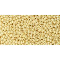 Бисер Preciosa 10/0 №46113  Непрозрачный бежевый жемчуг, 1 сорт (50 гр)