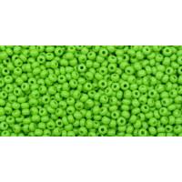 Бисер Preciosa 10/0 №53230 Непрозрачный зеленое яблоко, 1 сорт (50 гр)