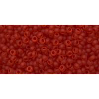 Бисер Preciosa 10/0 №90070M Прозрачный матовый вишневый, 1 сорт (50 гр)