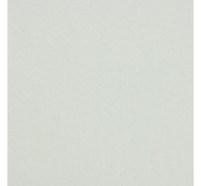 """Фетр """"BLITZ"""" жесткий, 1мм, 20см х 30см, №073 белый"""