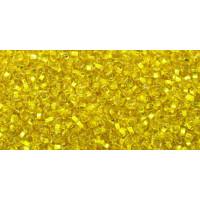 Бисер Preciosa 10/0 №87010 Внутреннее серебрение желтый, 1 сорт (50 гр)