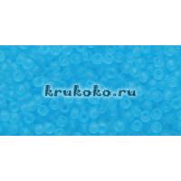 Бисер Toho 11/0 Прозрачный морозный аквамарин (TR-11-3F)
