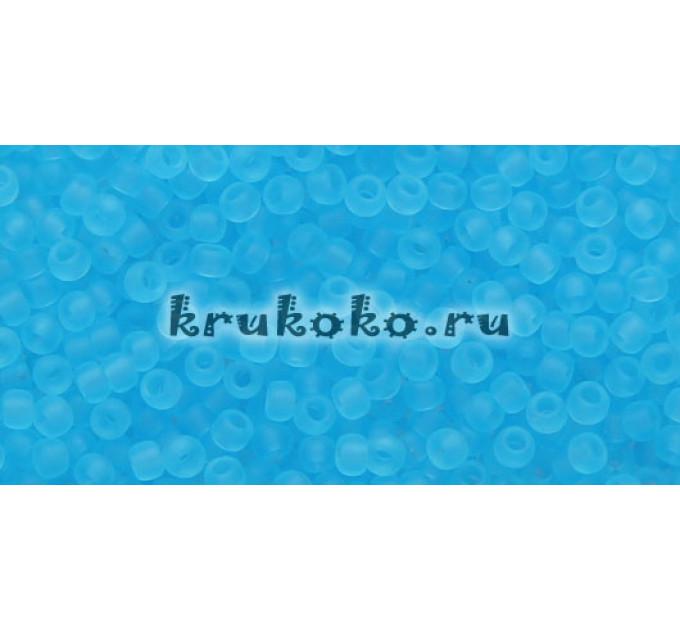 Бисер Toho 11/0 Прозрачный морозный аквамарин