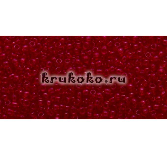Бисер Toho 11/0 Прозрачный рубин