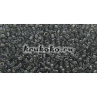 Бисер Toho 11/0 Прозрачный серый (TR-11-9B)