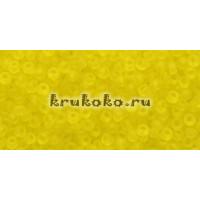 Бисер Toho 11/0 Прозрачный морозный лимон