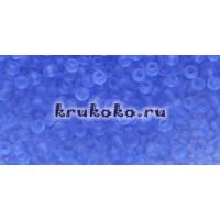 Бисер Toho 11/0 Прозрачный морозный светлый сапфир