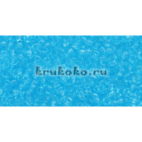Бисер Toho 11/0 Прозрачный аквамарин (TR-11-3)
