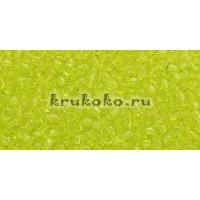 Бисер Toho 11/0 Прозрачный зеленый лайм (TR-11-4)