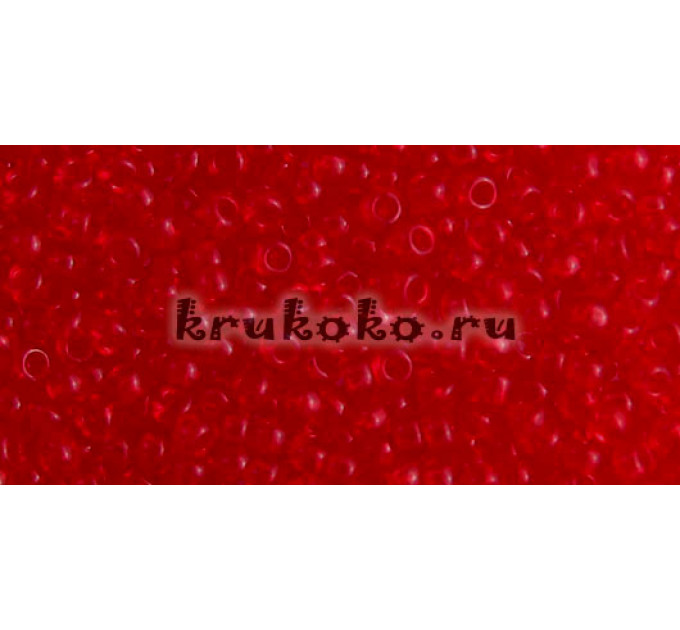 Бисер Toho 11/0 Прозрачный сиамский рубин
