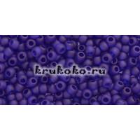 Бисер Toho 11/0 Прозрачный морозный кобальт (TR-11-8DF)
