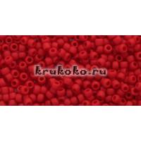 Бисер Toho 11/0 Непрозрачный морозный красный перец