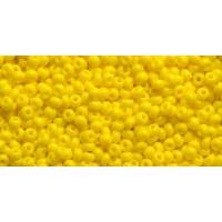 Бисер Preciosa 10/0 №83110 Непрозрачный ярко-желтый, 1 сорт (50 гр)