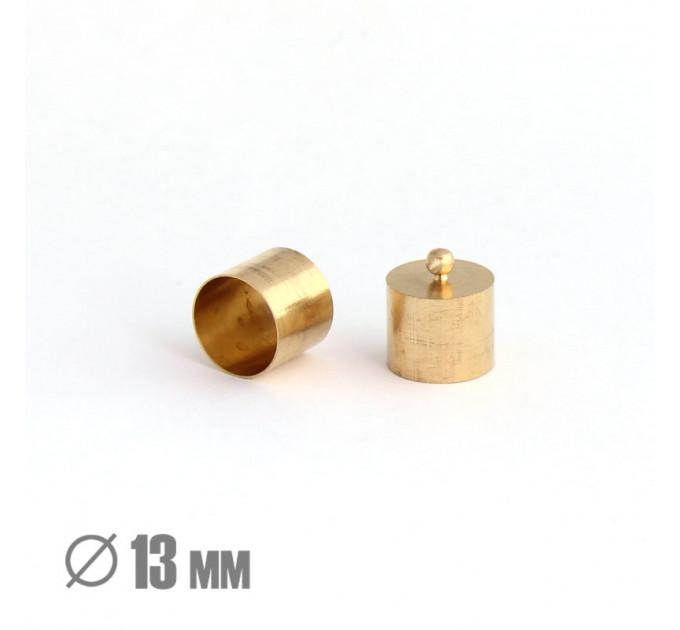 Колпачок-циллиндр, ВД 13мм, латунь