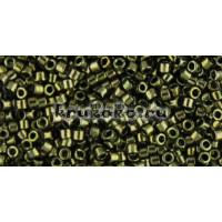 Бисер Miyuki Delica 11/0 Металлизированный оливковый (DB0011)
