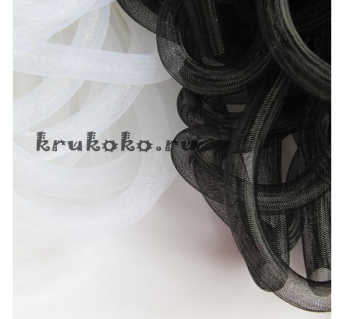 Сетка кринолин, диаметр 16мм, белая (1м)