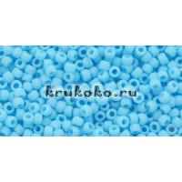 Бисер Toho 11/0 Непрозрачный морозный голубая бирюза