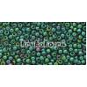 Бисер Toho 11/0 Золотое сияние прозрачный изумруд (TR-11-322)